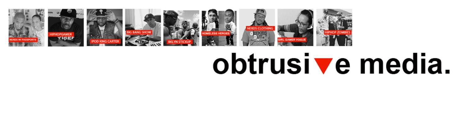 Obtrusive Media