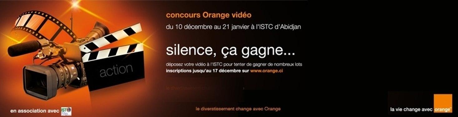 Concours Orange Video Cote d'Ivoire