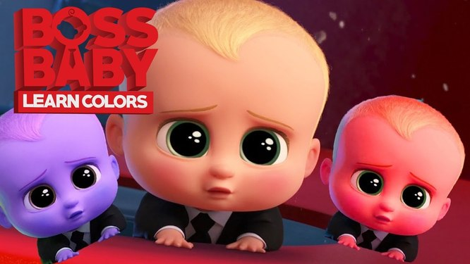 BOSS BABY LEARN COLOR - SMILE