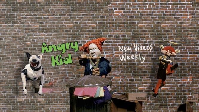 Angry Kid Francais