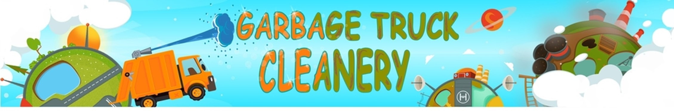 Garbage Truck Cleanery