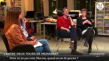 Mercredi, «En direct de Mediapart». Contre Le Pen mais face au vote Macron