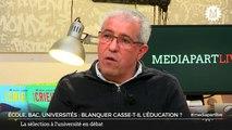 Mercredi «En direct de Mediapart»: Blanquer casse-t-il l'école et l'université?