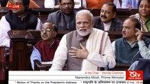 Modi @ rajya sabha