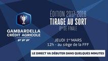 Coupe Gambardella-CA, huitièmes de finale : le tirage au sort en direct (12h00)