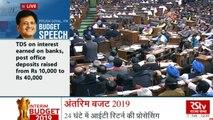 Interim Budget 2019 Live: Full Details of Union Budget 2019   Oneindia News