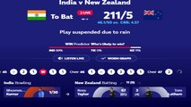 India and New Zealand face off in the first CWC19 semi-final