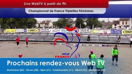 8e Championnat de France Triplettes Promotions