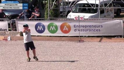 Championnat de France Triplettes Jeu Provençal 2019