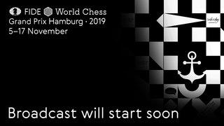 FIDE World Chess Grand Prix Hamburg 2019. Round 2. Game 2.