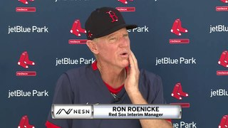 Red Sox Spring Training News Conference (2/20)