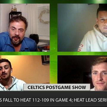 Celtics vs Heat Game 4 CLNS Media Postgame Show