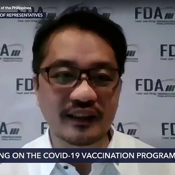 House hearing on the COVID-19 vaccination program