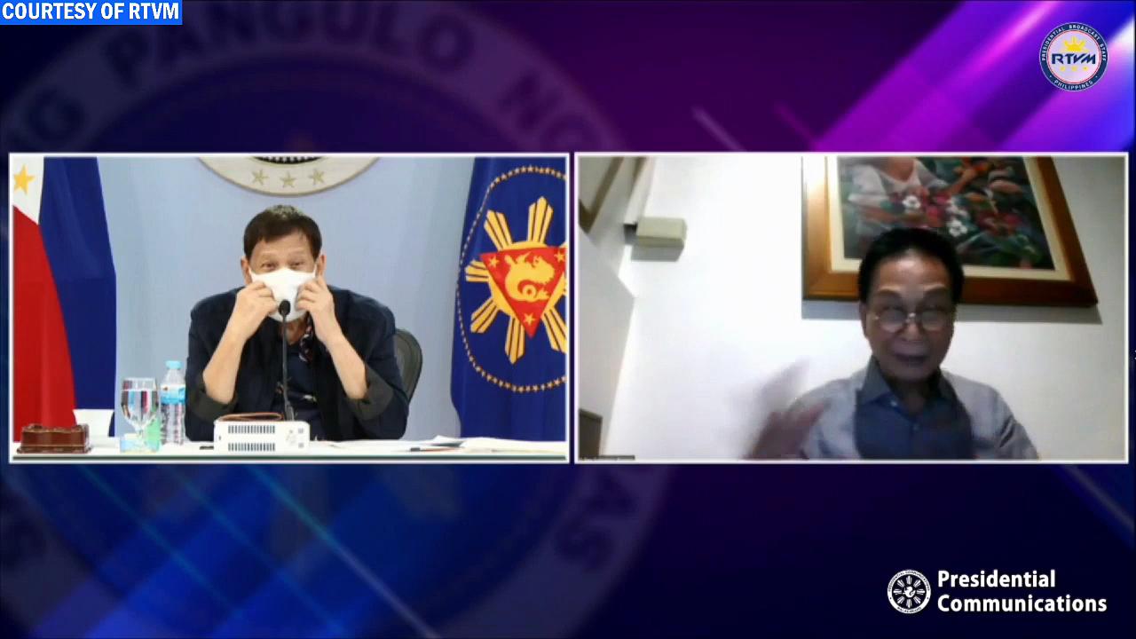 Talk to the People of President Rodrigo Roa Duterte on Coronavirus Disease 2019 (COVID-19)