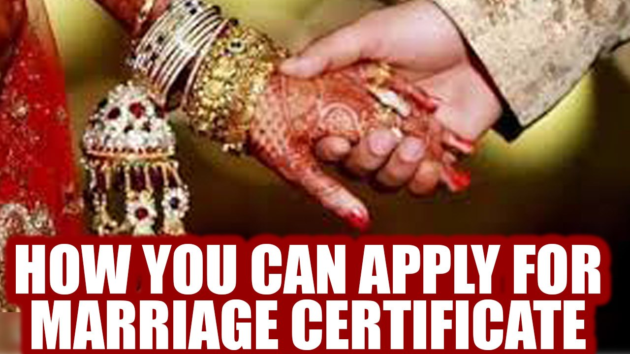 How To Request A Copy Of Your Marriage Certificate Online: How To Apply For Marriage Certificate: Your Complete Guide