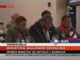 VI Cumbre del ALBA - Adhesión de Antigua y Barbuda