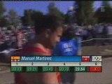 Athlé finale lancer poids homme JO Athènes 2004 partie 5
