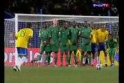 Bresil 1 - 0 Afrique du sud - Coupe des confédérations