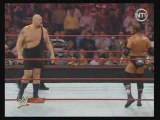 RAW  big show vs jhon cena vs randy orton vs hhh part1