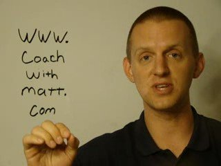 Coach With Matt.com Business Tip – Managing Your Time