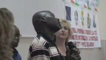 27-06-2009 Rosarno (RC) fine corso italiano per Africani