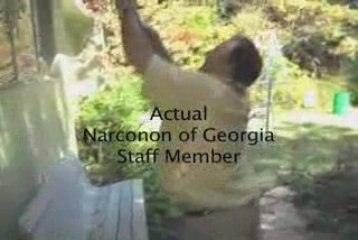 Narconon of Georgia volunteers at a nature center