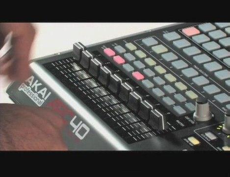 Controleur Akai APC 40 Ableton (La Boite Noire)