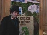 Matthieu Chedid, parrain de la chasse aux trésors de Paris !
