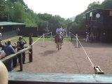 28-06-2009 Voltige cosaque à Western-City à Chaufontaine