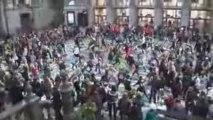 Flashmob Danse - Gare Anvers 23 mars 2009