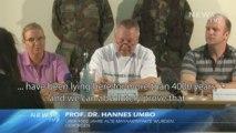 Pressekonferenz zu Sensationsfunden in Deutschland