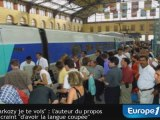 """""""Sarkozy je te vois"""" : relaxé, l'auteur réagit avec humour"""