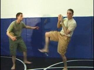 Self defense step 8: Kicking