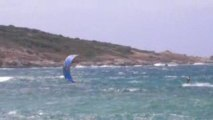 Kit extrême sur la plage de Lozari