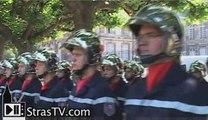 Pompiers du Bas-Rhin décorés -  SDIS 67