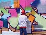 Graffiti a la patinoire de Morges