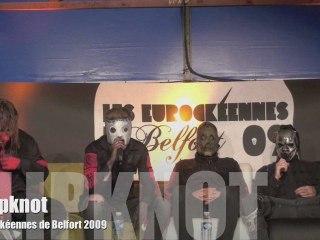 Slipknot - Eurockéennes de Belfort 2009