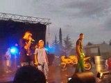 REVOLUTION URBAINE ET RK AU FESTIVAL RAP DE SAINT MAXIMIN LE 4 JUILLET