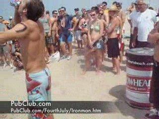 Beer Drinking Ironman