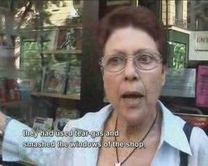Agression d'une librairie (LIBRAIRIE RESISTANCE) à Paris