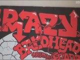 Dans le studio de Krazy Baldhead