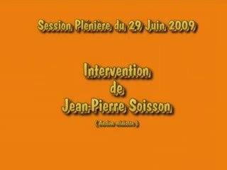 Intervention Jean-Pierre Soisson