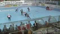 ROLLER HOCKEY - CHAMPIONNAT DU MONDE 2009 : France / Canada