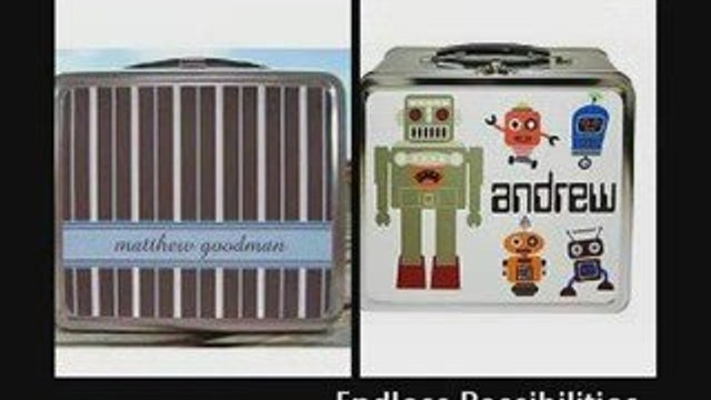 Unique Personalized Lunch Boxes