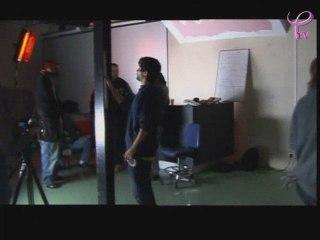 JEANNE MOCHE 18 sur le tournage d'un clip de rap