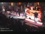 SCENE A Pamukkale  en Turquie Mx & Fakir & Saladin