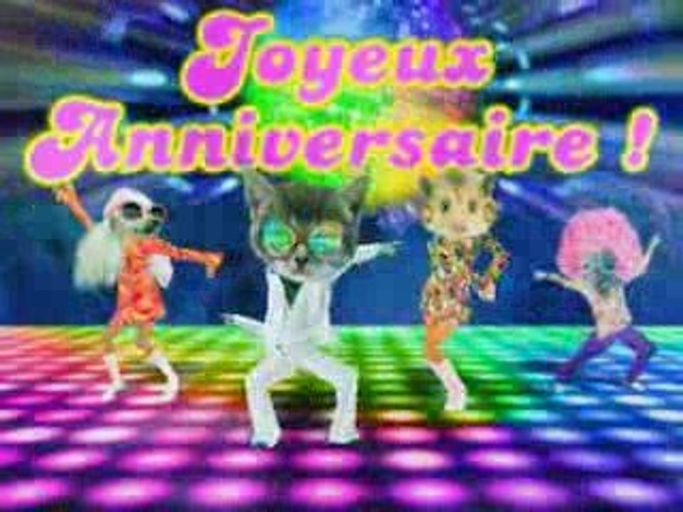 Carte Anniversaire Disco Video Dailymotion