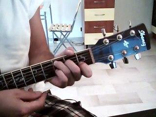 Visionnez les Cours Vidéo de L'�le aux enfants g�n�rique dessin anim� - Cours de guitare avec Accords