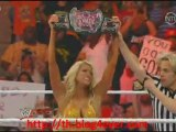 Catch attack Raw 1/07/11 - Brie Bella VS Kelly Kelly