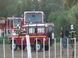 CAP D'AGDE - 2011 - Intervention Pompiers Agde le 1 juillet au Cap d'Agde